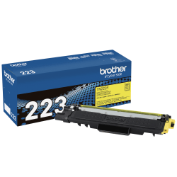 Brother Genuine TN-223Y Yellow Toner Cartridge