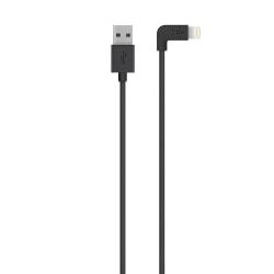 Belkin® MIXIT™ 90° Lightning-to-USB Cable, Black