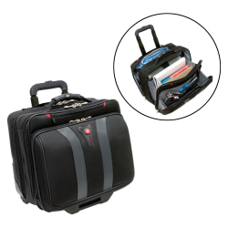 "Wenger® GRANADA 17"" Wheeled Laptop Case, Black"