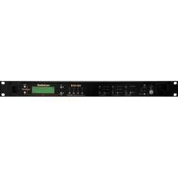 RTS Two-Channel UHF Synthesized Wireless Intercom Base Station - Wireless - Rack-mountable, Desktop