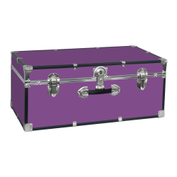 "Seward Essential 30"" Trunk with Lock, Purple"