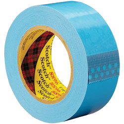"Scotch® 8896 Strapping Tape, 3"" Core, 2"" x 60 Yd., Blue, Case Of 24"