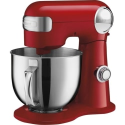 Cuisinart Precision Master SM-50R Stand Mixer - 500 W - Ruby Red, Polished Stainless Steel
