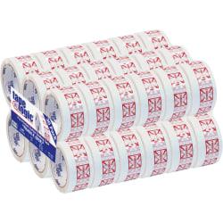 "Tape Logic® Fragile (Box) Preprinted Carton Sealing Tape, 3"" Core, 2"" x 55 Yd., Red/White, Pack Of 36"