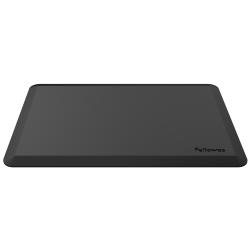 "Fellowes® Sit-Stand Floor Mat, Rectangular, 36"" x 24"", Black"