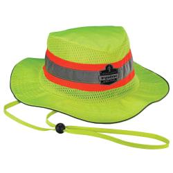 Ergodyne Chill-Its 8935MF Evaporative Microfiber Ranger Hat, Large/Extra-Large, Lime
