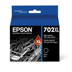 Epson® DURABrite® Ultra T702XL120-S Black High-Yield Ink Cartridge