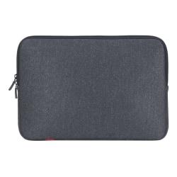 "RIVACASE 5123 Antishock Laptop Sleeve For 13"" MacBook Laptops, Dark Gray"
