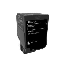 Lexmark™ Unison Return Program Toner Cartridge, 74C10K0, Black