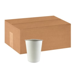 Hotel Emporium Generic Hot Cups, Individually Wrapped, 10 Oz, 100% Recycled, White, Pack Of 1,000 Cups