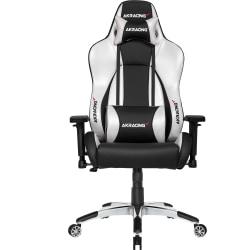 AKRacing™ Master Premium Gaming Chair, Silver