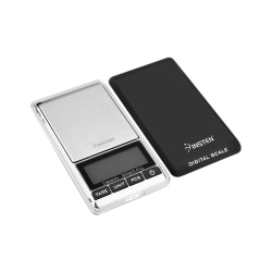 Insten Digital Pocket Scale, 0.01 - 10.58 Oz, Black / Silver