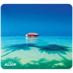 "Allsop® Naturesmart™ Mouse Pad, 0.79""H x 8.75""W x 8""D, Tropical Maldive, 31625"
