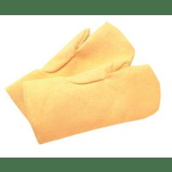 High Heat Wool-Lined Mittens, Fiberglass, Yellow, Large
