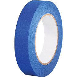 """Business Source Multisurface Painter's Tape - 1"""" Width x 60 yd Length - Smooth, Pliable - 2 / Pack - Blue"""