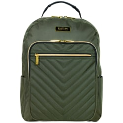 "Kenneth Cole Reaction Chelsea Computer Backpack With 15"" Laptop Pocket, Olive"