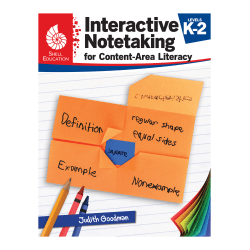 Shell Education Interactive Notetaking for Content-Area Literacy, Grades 3-5