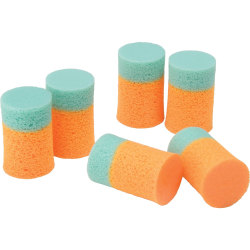 Ear Plugs, 2 Color, Box Of 200 (AbilityOne 6515-00-137-6345)