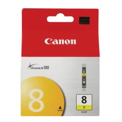 Canon CLI-8Y ChromaLife 100 Yellow Ink Cartridge (0623B002AA)