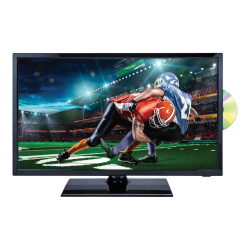"Naxa NTD-2256 - 22"" Class (21.5"" viewable) LED TV - with built-in DVD player - 1080p (Full HD) 1920 x 1080 - shiny black"