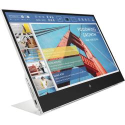 "HP E14 G4 14"" Full HD LCD Monitor - 16:9 - 14"" Class - In-plane Switching (IPS) Technology - 1920 x 1080 - 400 Nit - 5 ms GTG (OD) - USB Hub"