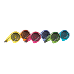 "Office Depot® Brand Side-Application Correction Tape, 1 Line x 392"", Pack Of 12"