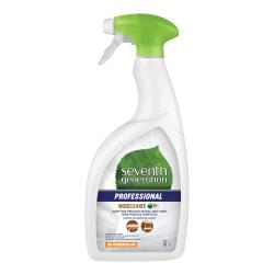 Seventh Generation™ Professional Wood Cleaner, Lemon Chamomile Scent, 32 Oz, Carton Of 8 Bottles