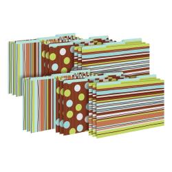 Barker Creek Tab File Folders, Legal Size, Ribbon By The Yard, Pack Of 18 Folders