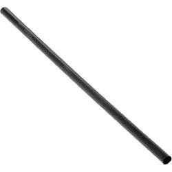 "Goldmax Jumbo Individually Wrapped Flexible Straws, 7 3/4"", Black, Case Of 2,500"