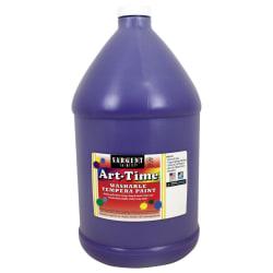 Sargent Art® Art-Time Washable Tempera Paint, 1 Gallon, Violet