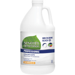 Seventh Generation® Professional Free & Clear Non-Chlorine Bleach, 64 Oz, Carton Of 6 Bottles