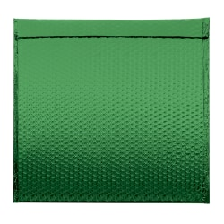 """Office Depot® Brand Glamour Bubble Mailers, 17-1/2""""H x 16""""W x 3/16""""D, Green, Pack Of 48 Mailers"""