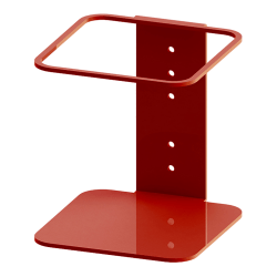 """Built Sanitizer Gallon Wall-Mount Stand, 7-1/2"""" x 6-7/8"""" x 7-1/4"""", Red"""