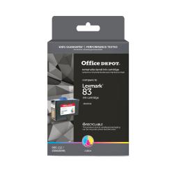 Office Depot® Brand L83 (Lexmark 83) Remanufactured Tricolor Ink Cartridge
