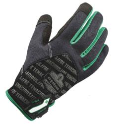 Ergodyne ProFlex 812TX Utility + Touch Gloves, Medium, Black