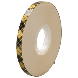 "Scotch® 908 Adhesive Transfer Tape, 1"" Core, 0.25"" x 36 Yd., Clear, Case Of 6"