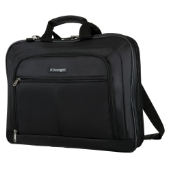 """Kensington® SureCheck SP45 17"""" Classic Case, 14"""" x 18.25"""" x 15.75"""", Black"""