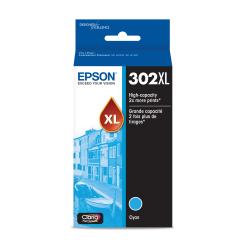 Epson® T302XL220-S High-Yield Cyan Ink Cartridge