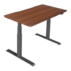 "Vari Electric Standing Desk, 60""W, Darkwood"