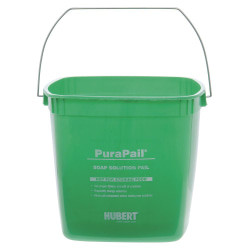 Hubert Cleaning Utility Bucket, 6 Qt, Green