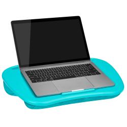 "LapGear MyDesk Lap Desk, 13""H x 17.9""W x 2.6""D, Turquoise"