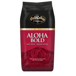 Gold Coffee Company Aloha Bold Ground Coffee, 10 Oz
