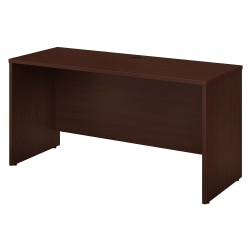 "Bush Business Furniture Studio C Credenza Desk, 60""W x 24""D, Harvest Cherry, Standard Delivery"