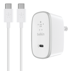 Belkin® USB-C Mobile Device Charger, White, F7U008DQ05