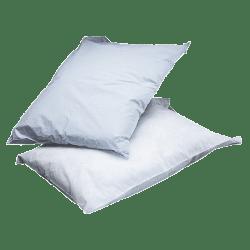 Medline Disposable Pillowcases, White, Box Of 100