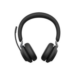 Jabra Evolve2 65 Headset - Stereo - USB Type C - Wireless - Bluetooth - Over-the-head - Binaural - Supra-aural - Black