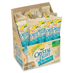 Crystal Light® On-The-Go Mix Sticks, Iced Tea, 0.04 Oz, Box Of 30