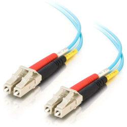 C2G 5m LC-LC 10Gb 50/125 Duplex Multimode OM3 Fiber Cable - Aqua - 16ft - 5m LC-LC 10Gb 50/125 Duplex Multimode OM3 Fiber Cable - Aqua - 16ft