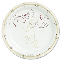 """Solo Cup Heavyweight Paper Plates - 8.50"""" Diameter Plate - Paper Plate - 500 Piece(s) / Carton"""