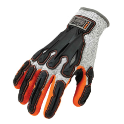 Ergodyne ProFlex 922CR Cut-Resistant Nitrile-Dipped DIR Gloves, Medium, Gray
